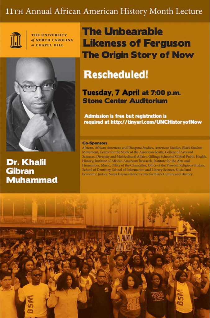 Khalil Muhammad lecture