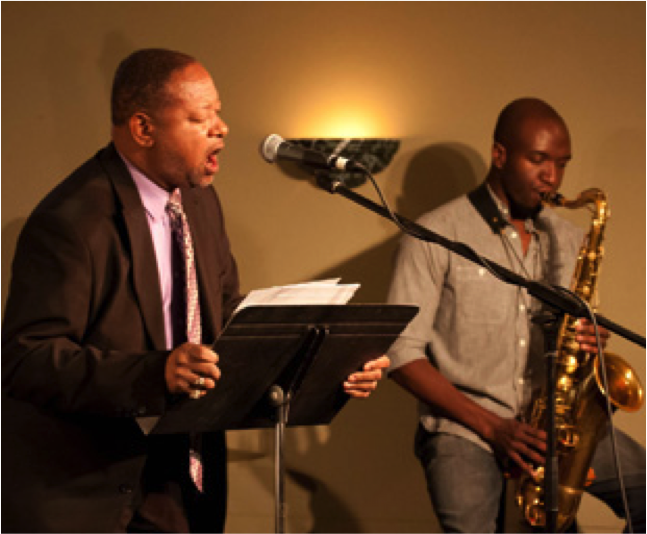 Music on the Porch: Lenard D  Moore & University of Mount Olive Jazz