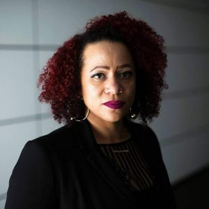 Journalists Nikole Hannah-Jones