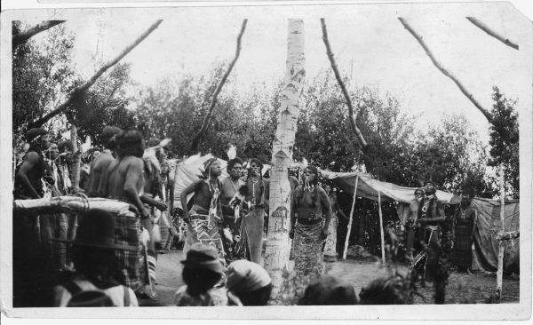 Fort Hall Reservation Shoshone Sun Dance