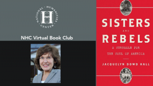 Jacqueline Dowd Hall with NHC Book Club