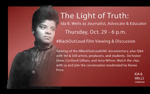 Ida B Wells Oct 29 event